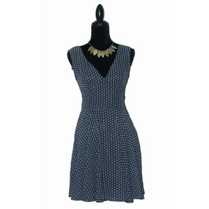 Mela London Black Flower Print Dress